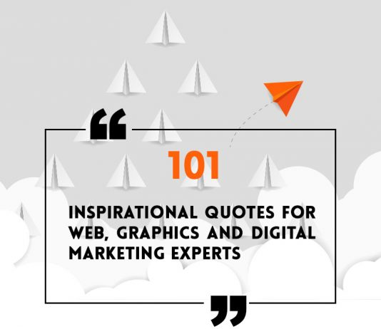 inspirational quotes for web designer