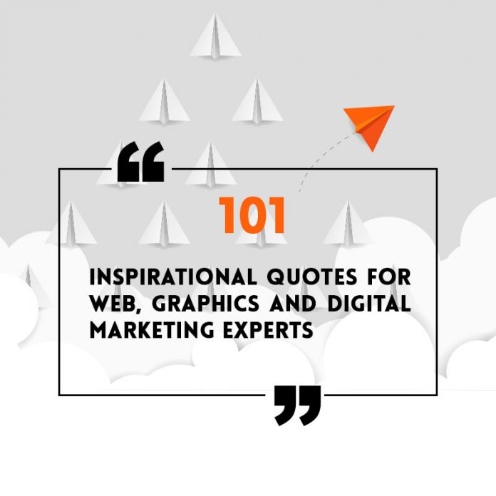 inspirational quotes for web designer
