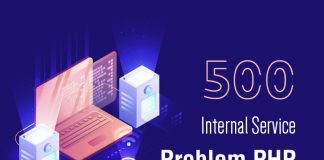 500 internal service problem PHP