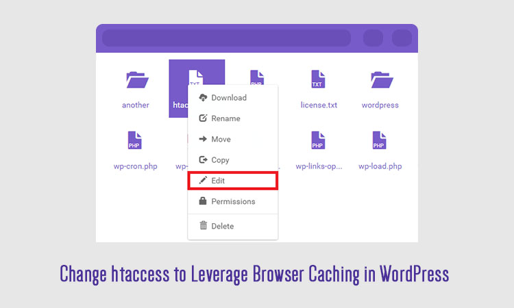 leverage browser caching htaccess