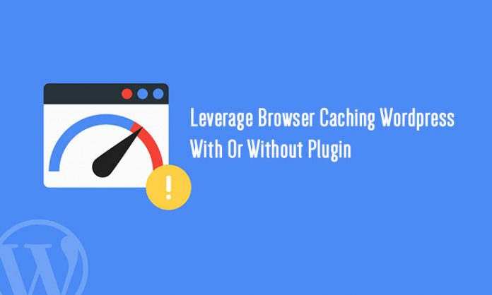how to fix leverage browser caching wordpress
